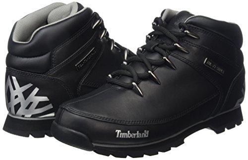 Timberland Eurosprint  Men   s Ankle Boots  Black  Black   8 UK  42 EU