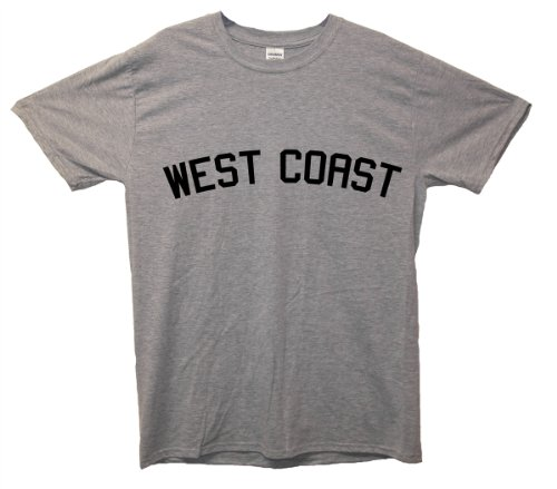 West Coast T-Shirt Grau