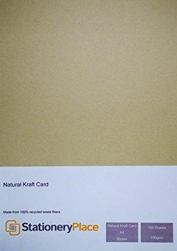 papeleria-lugar-marron-reciclado-papel-kraft-natural-a4-100-g-m-100-unidades