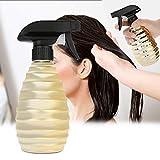 350ml plastica parrucchiere spray bottiglia salone barbiere capelli strumenti acqua spruzzatore, riutilizzabile parrucchiere acqua spruzzatore barbiere bottiglia spray taglio(Oro)