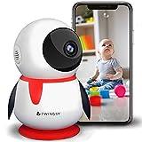 2019 Twingsy Wunderschöne Überwachungskamera für Baby und Haus | Full-HD WLAN IP 1080p Babyphone mit Kamera für iPhone/Android.