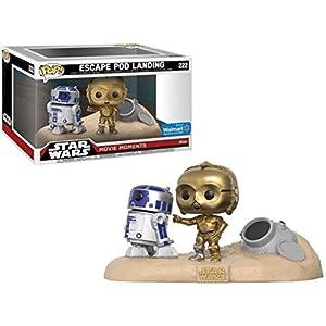 Funko Pop R2-D2 y C-3PO en el desierto (Star Wars 222) Funko Pop Star Wars