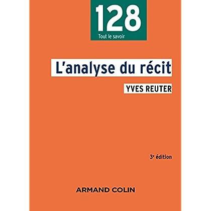 L'analyse du récit - 3e éd.