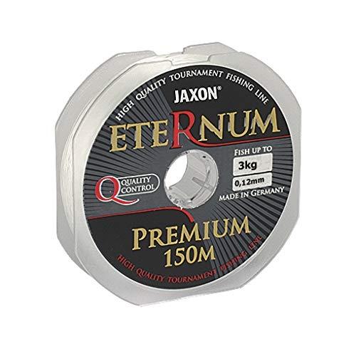 Jaxon Angelschnur ETERNUM Premium 150m/0,10-0,45mm Monofile Schnur (0,12mm / 3kg)