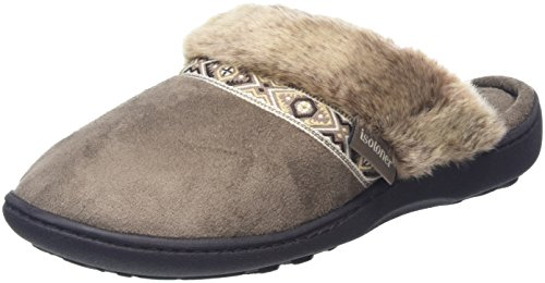 isotoner-women-pillowstep-with-fur-cuff-and-tape-trim-open-back-slippers-beige-taupe-5-uk-38-eu