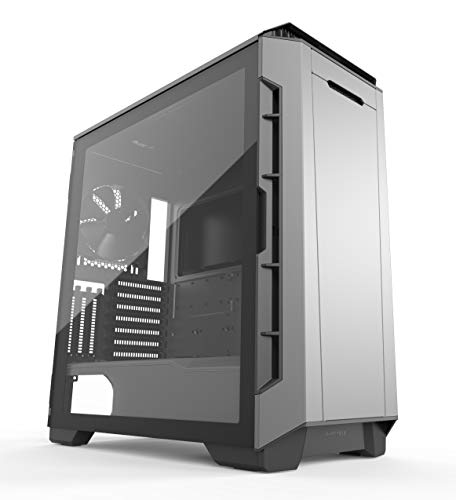 Phanteks Eclipse P600S Hybrid Silent and Performance ATX Chassis gehärtetes Glas, Gewebefilter, Dual System Support, PWM Hub, Schalldämpfende Panels, Anthrazit (Desktop-fall-tower)