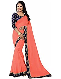 Sarees For Women Sarees New Collection Sarees For Women Latest Design Women's Tometo Chanderi Cotton Saree With...