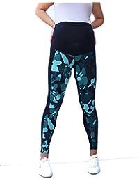 cd7fc460339c Amazon.it  Verde - Leggings   Abbigliamento premaman  Abbigliamento