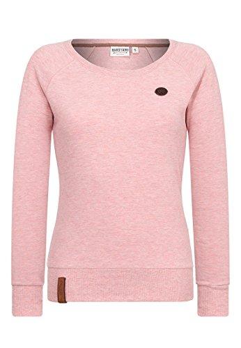 Naketano Female Sweatshirt Krokettenhorst Schmutzmuschi Pink Melange, M