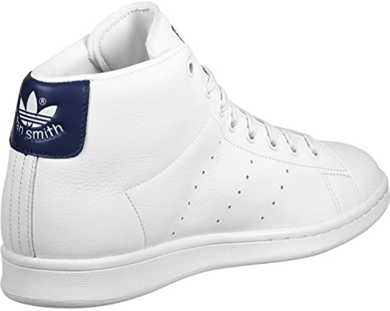 adidas Herren Stan Smith Mid Sneaker  weisssszlig