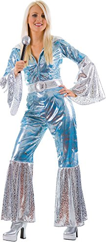Wicked Kostüm Tragen Mich - Waterloo Blue/Silver Sexy Ladies Fancy Dress
