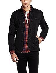 Fort Collins Mens Leather Coat (6163-ol_X-Large_Black)