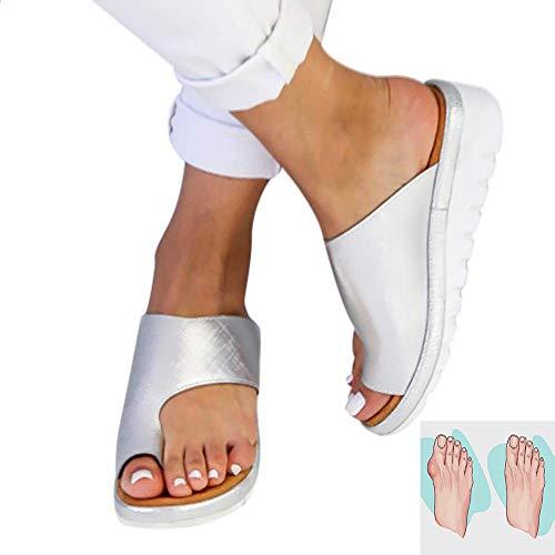 YCxz 2019 New Comfy Platform Sandal Shoes per Alluce Valgo,Set di Dita dei Piedi Sandali Donna,Best per Le Donne con Le Borsite
