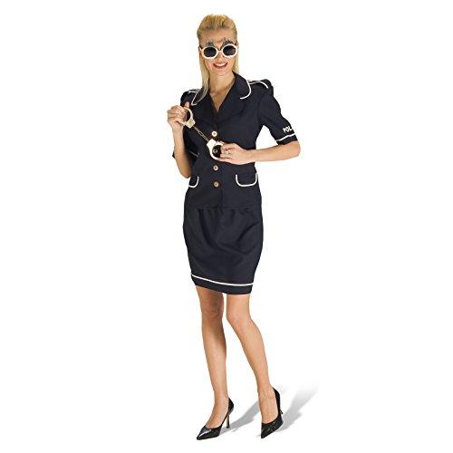 zistin, Cop-Kostüm, Uniform, kurz, Fasching, Ordnungshüter NEU - 36/38 (Paar Cop Kostüme)