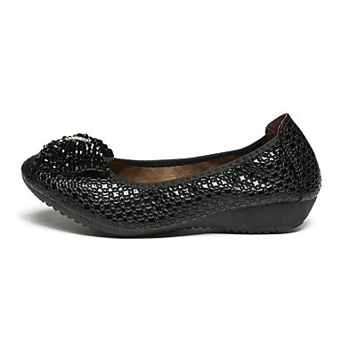 Confortevole ed elegante piatto scarpe donna mocassini & Slip-Ons Primavera Estate Autunno Inverno Comfort Nozze in similpelle nero Casual Kaki passeggiate Khaki
