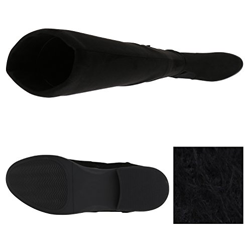 Stiefelparadies - Stivali classici Donna Schwarz Avelar