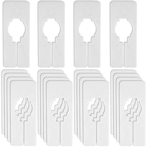 Blulu-20-Pack-Blank-Clothing-Rack-Size-Dividers-Rectangular-Closet-Dividers-for-Home-or-Cloth-Store