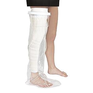 Vitility 70110700 Duschschutz – ganzes Bein