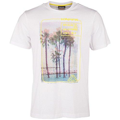 Kappa Herren T-Shirt Timon Short Sleeve Men White