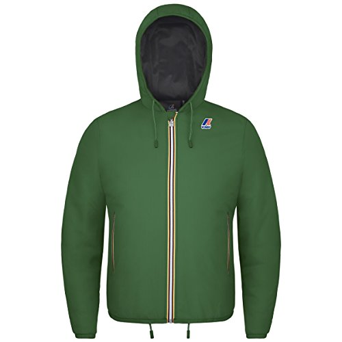 K-Way JACQUES RIPSTOP BLUE DEEP-ANTRACITE Green Md-Antracite
