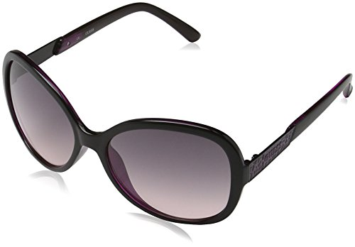 Guess Women's GU7207-BLK-50 Black Butterfly Sunglasses