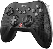 iPega PG-SW020 Gamepad Six-axis Wireless Game Controller with Dual Shock Motors Joystick Triggers Compatible w