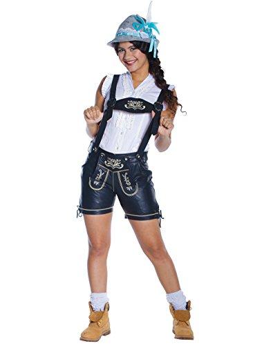 Damen Trachten Lederhose Jasmin aus 100% (Motto Kostüme 007)