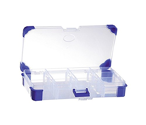 VISO 3321360007681 Aufbewahrungs Box 12 Kompartimente (Organizer-tool-box)