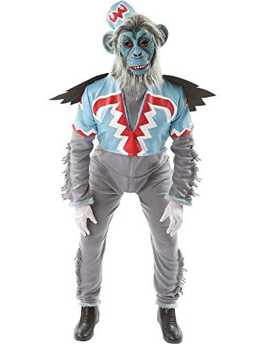 Erwachsener Herren Fliegend Affe Halloween Verkleidung Kostüm Extra Large (Herren Wizard Of Oz Kostüme)