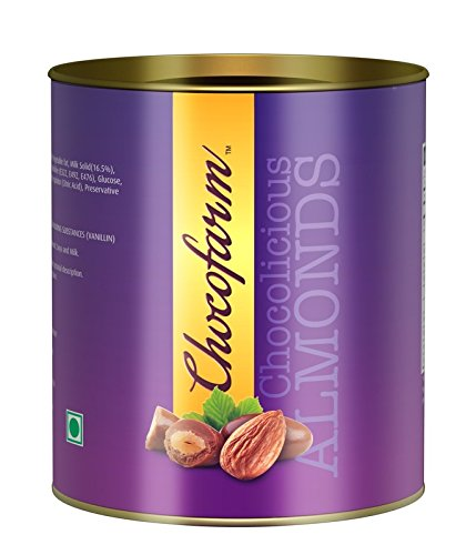 Chocofarm Chocolate Coated Roasted Almonds Chocolate - 95 gms