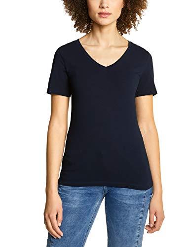 a T-Shirt, deep Blue, (Herstellergröße:36) ()
