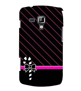 Kitty Fashion 3D Hard Polycarbonate Designer Back Case Cover for Samsung Galaxy S Duos S7562
