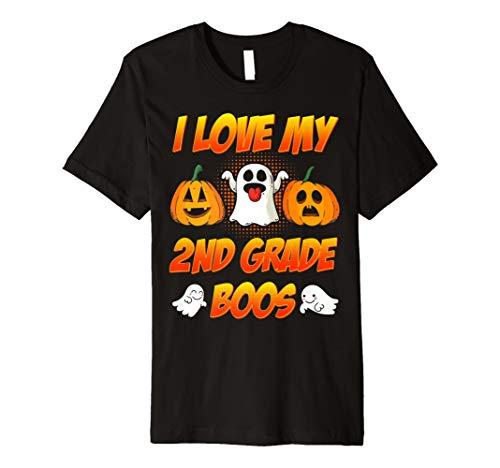 I Love My Little 2nd Grade Boos T-Shirt