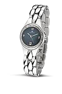 Philip Ladies Reflexion Analogue Watch R8253500645 with Quartz Movement, Mother Of Pearl Dial and Stainless Steel Case