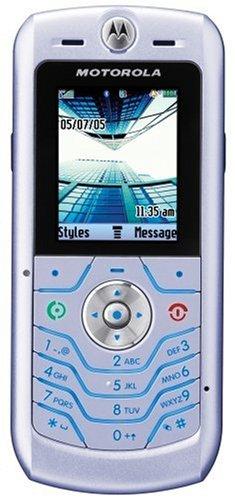 Motorola L6 - Telefono cellulare GSM, tri-band, con fotocamera, VGA, torcia, Bluetooth, ultrasottile e resistente, colore: Argento