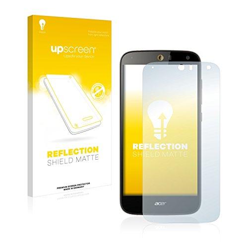 upscreen Matt Schutzfolie kompatibel mit Acer Liquid Z630S - Entspiegelt, Anti-Reflex, Anti-Fingerprint