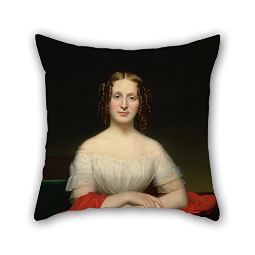 slimmingpiggy-oil-painting-charles-cromwell-ingham-portrait-of-fidelia-marshall-pillow-case-copricus