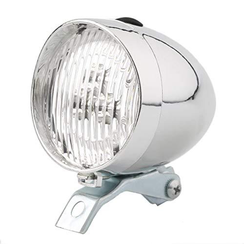 3 LED Vintage Ultra Brillante Linterna luz de la Lã¡Mpara de la Bicicleta Faro luz Delantera de la Bicicleta Segura Noche Ciclismo Accesorio de la Bicicleta