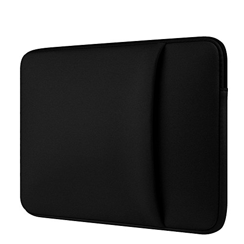 Laptop Hülle Tasche für 11/12/13/14/15/15.6 Zoll Macbook Mac/Air/Pro Retina Shockproof Neopren Sleeve/Case/Cover,Schwarz 2