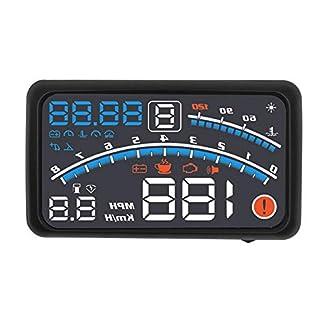 Head-Up-Display-4E4F-55-Zoll-Universal-Auto-HUD-OBD2-System-Head-Up-Display-Projektor-fr-die-meisten-Auto-Navigationsgerte