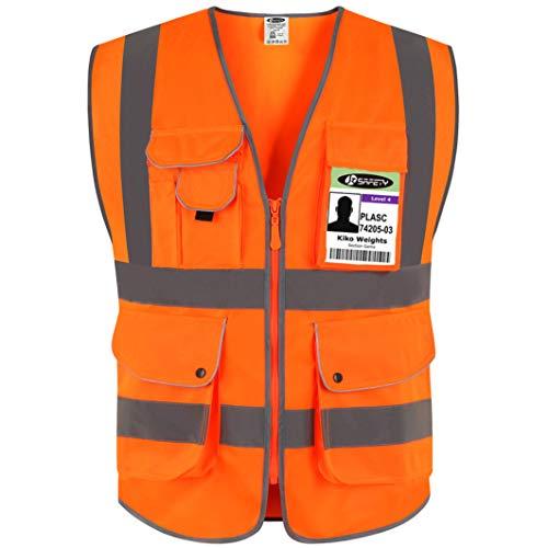JKSafety - Gilet Alta Visibilità Arancione(M)