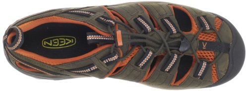 Keen Arroyo Ii, Chaussures de Randonnée Basses Homme Vert (Black Olive/Bombay Brown)
