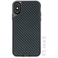 Mous Protective iPhone XS Max Case - Aramid Carbon Fibre - Free Screen Protector Inc.