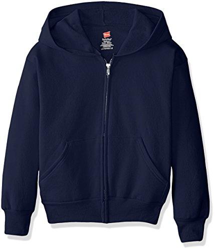 Hanes Big Boys' Eco Smart Fleece Zip Hood -