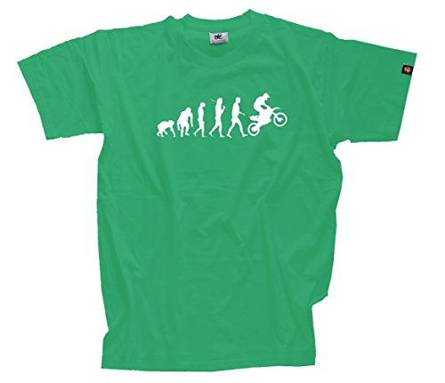 T-Shirt Kelly S Evolution Motocross I MX Motocrosser Supercross Enduro