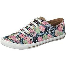 790b48a5ed53 GOSCH SHOES Sylt Damen Sneaker 7114-303 mit Blumenmuster in 2 Farben