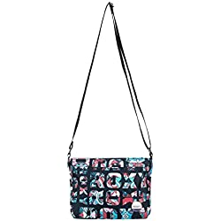 Roxy Sunday Smile Bolso Bandolera, 47 cm, Anthracite