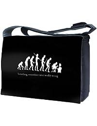 Luxburg® design uk-nb-sb-10315–17–01–13Sac Messager pour Ordinateur portable 17avec bandoulière–mauvaise Evolution