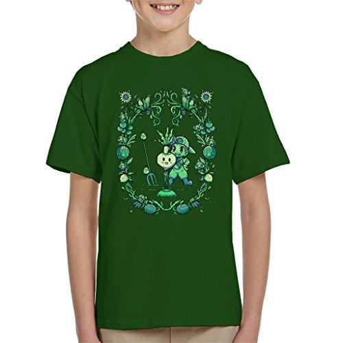 Cloud City 7 Fruit of The Harvest Moon Story of Seasons Kid's T-Shirt