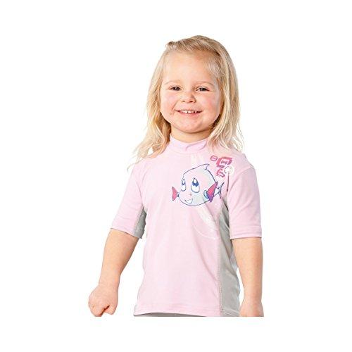 HYPHEN UV- Shirt kurzarm Baby-Bademode UV-Schutz-Kleidung, Größe 80/86, rosa